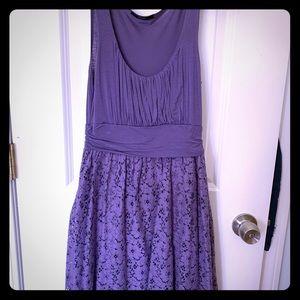 Soprano Lace Dress. Size: small. Color: lavender.